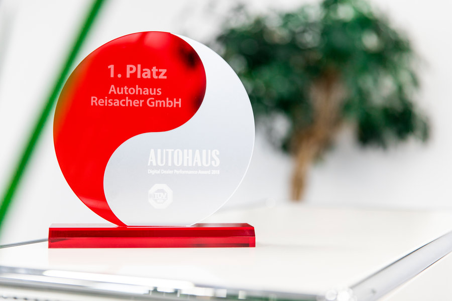 Reisacher gewinnt den Digital Dealer Performance Award (DDPA) 2018.