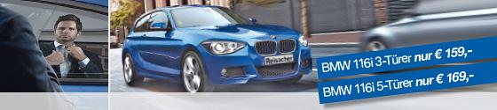Aktion: BMW 116i 3-Türer & BMW 116i 5-Türer