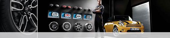 Reisacher. MINI Reifen- und Räderservice.