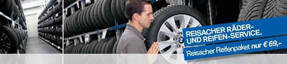 Reisacher BMW-Reifenpaket