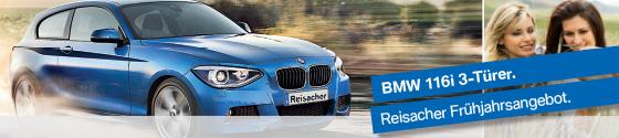 Aktion: BMW 116i 3-Türer