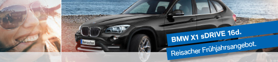 Aktion: BMW X1 sDrive 16d