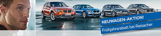 Reisacher. BMW Neuwagen Aktionsangebote.