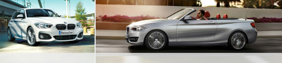 Reisacher Anmeldung BMW 2er Cabrio und BMW 1er